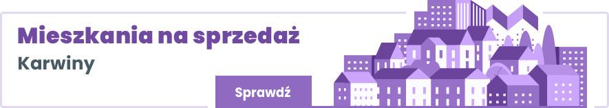 mieszkania na sprzedaż Gdynia Karwiny