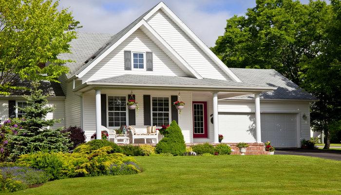 Dom jednorodzinny - zagospodarowanie terenu