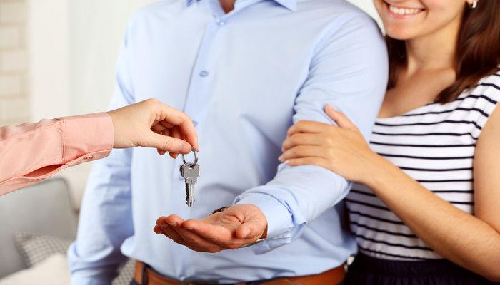 Odbiór kluczy do gotowego domu