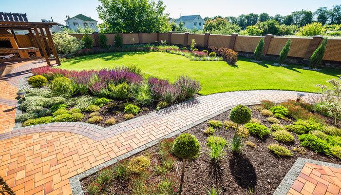 Działka - przydomowy ogród