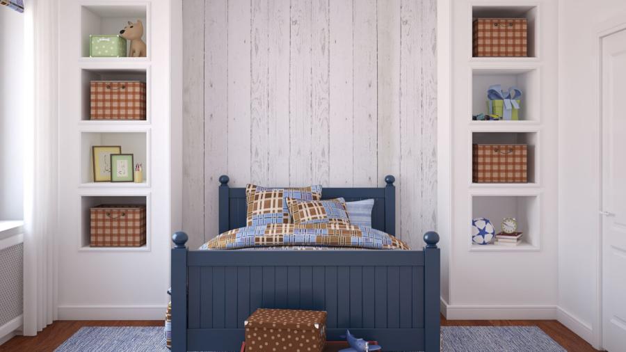 tapeta imitująca drewno
