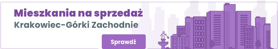 mieszkania Krakowiec Górki Zachodnie