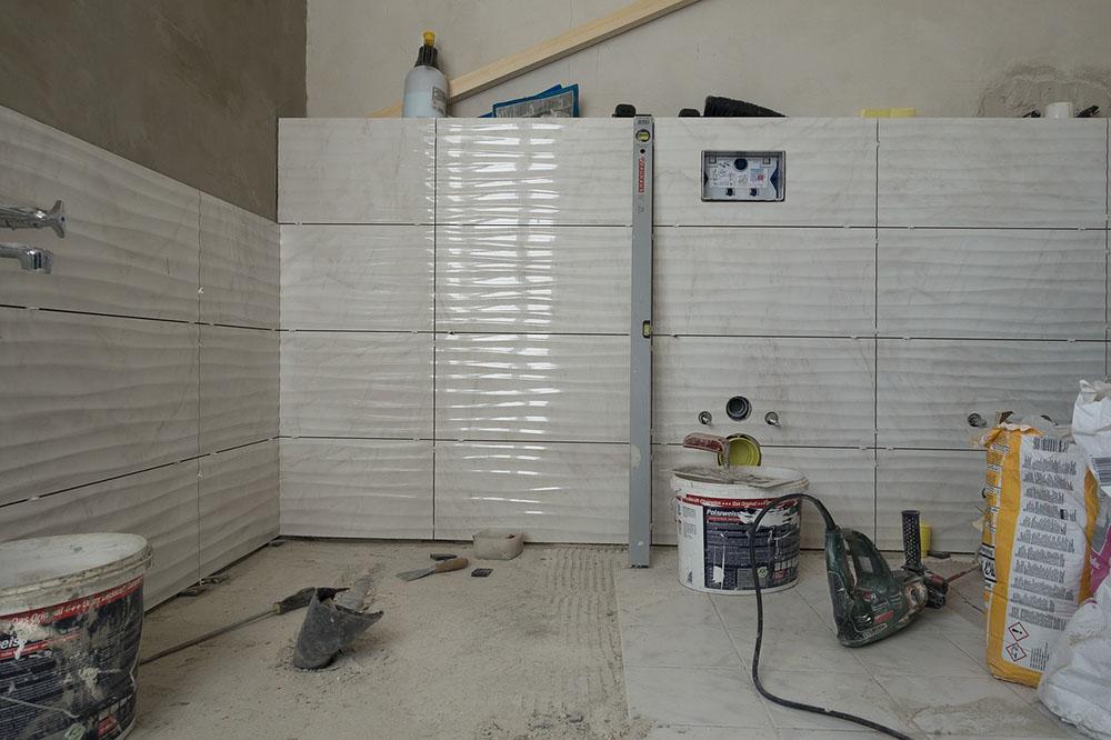 Krok3 ściany i podłogi, remont łazienki, gethome.pl
