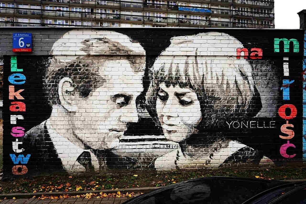 mural lekarstwo na miłość