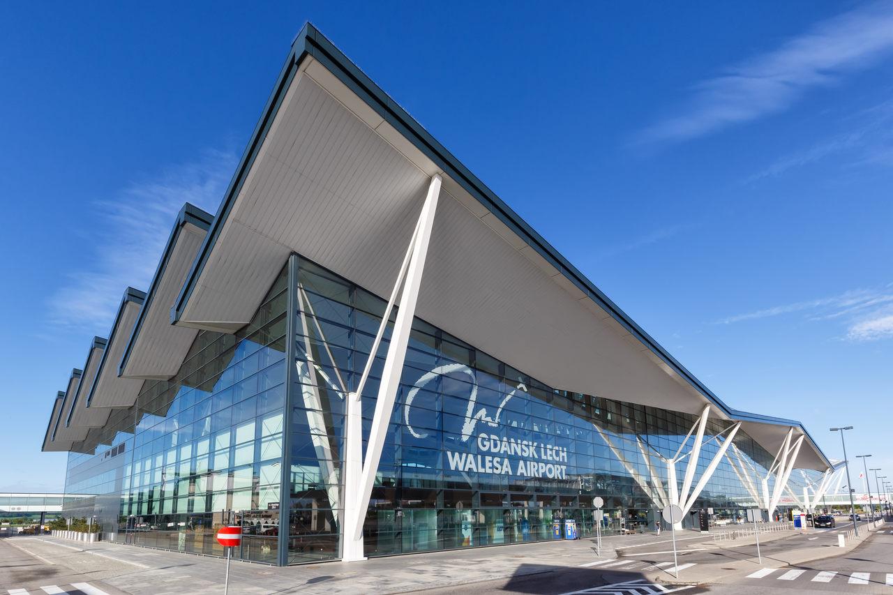 lotnisko Lecha Wałęsy w Gdańsku