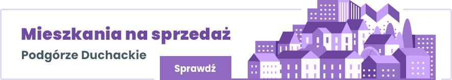 mieszkania na sprzedaż Podgórze Duchackie Kraków