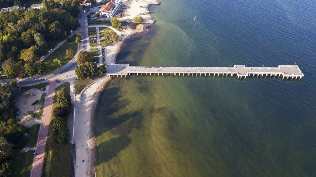Molo w Orłowie Gdynia