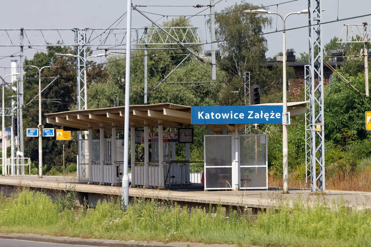 stacja kolejowa Katowice Załęże