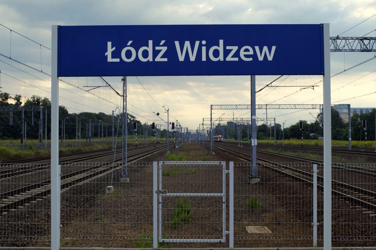 stacja kolejowa Widzew Łódź