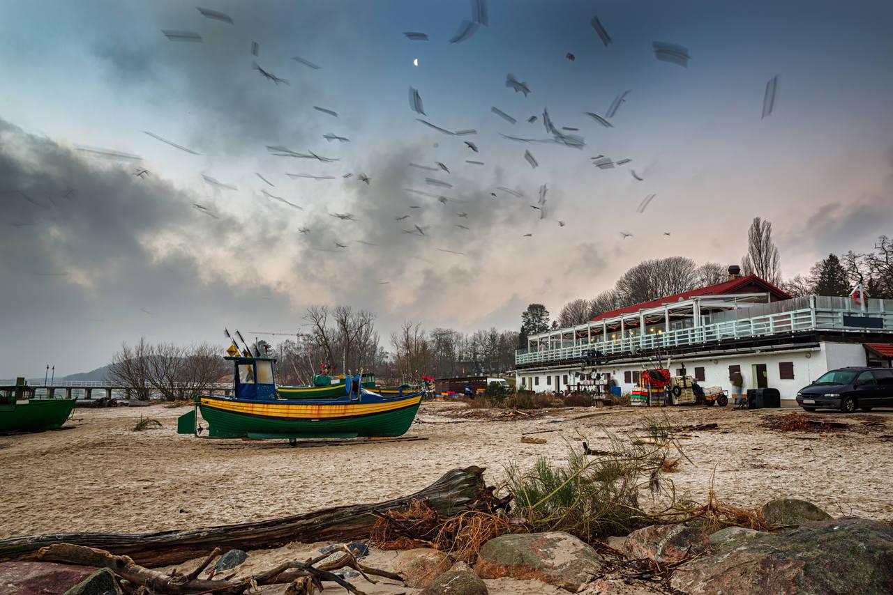 Plaża w Orłowie Gdynia