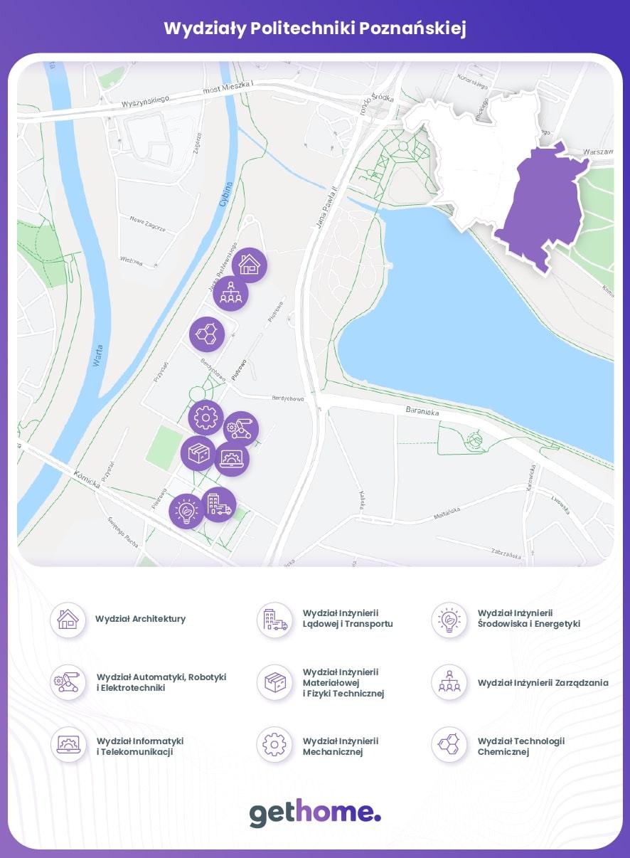 Wydziały Politechniki Poznańskiej