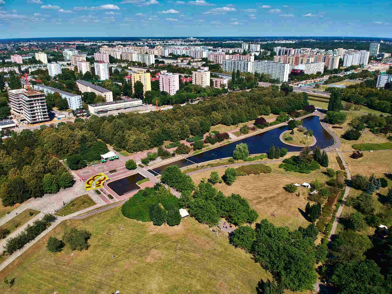 park brodnowski na targowku