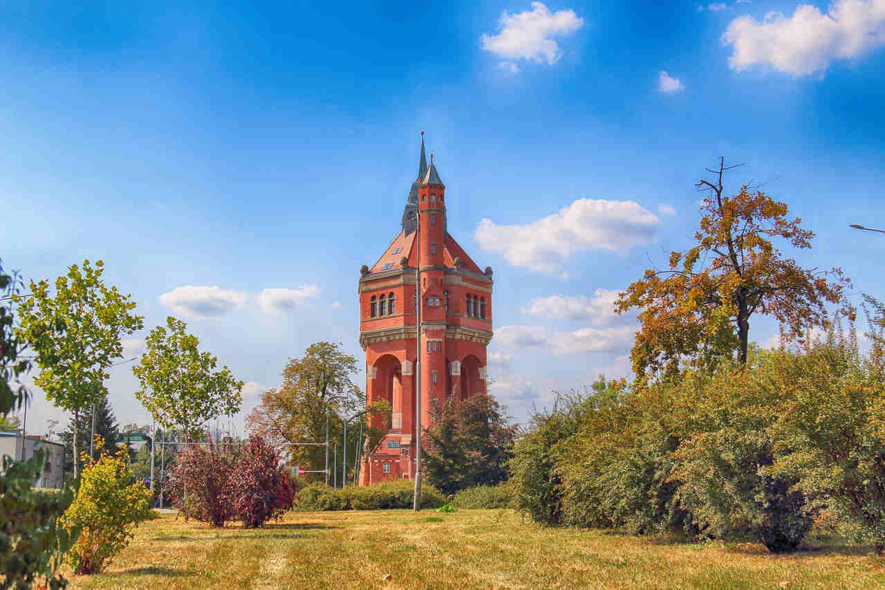 wieża ciśnień we Wrocławiu