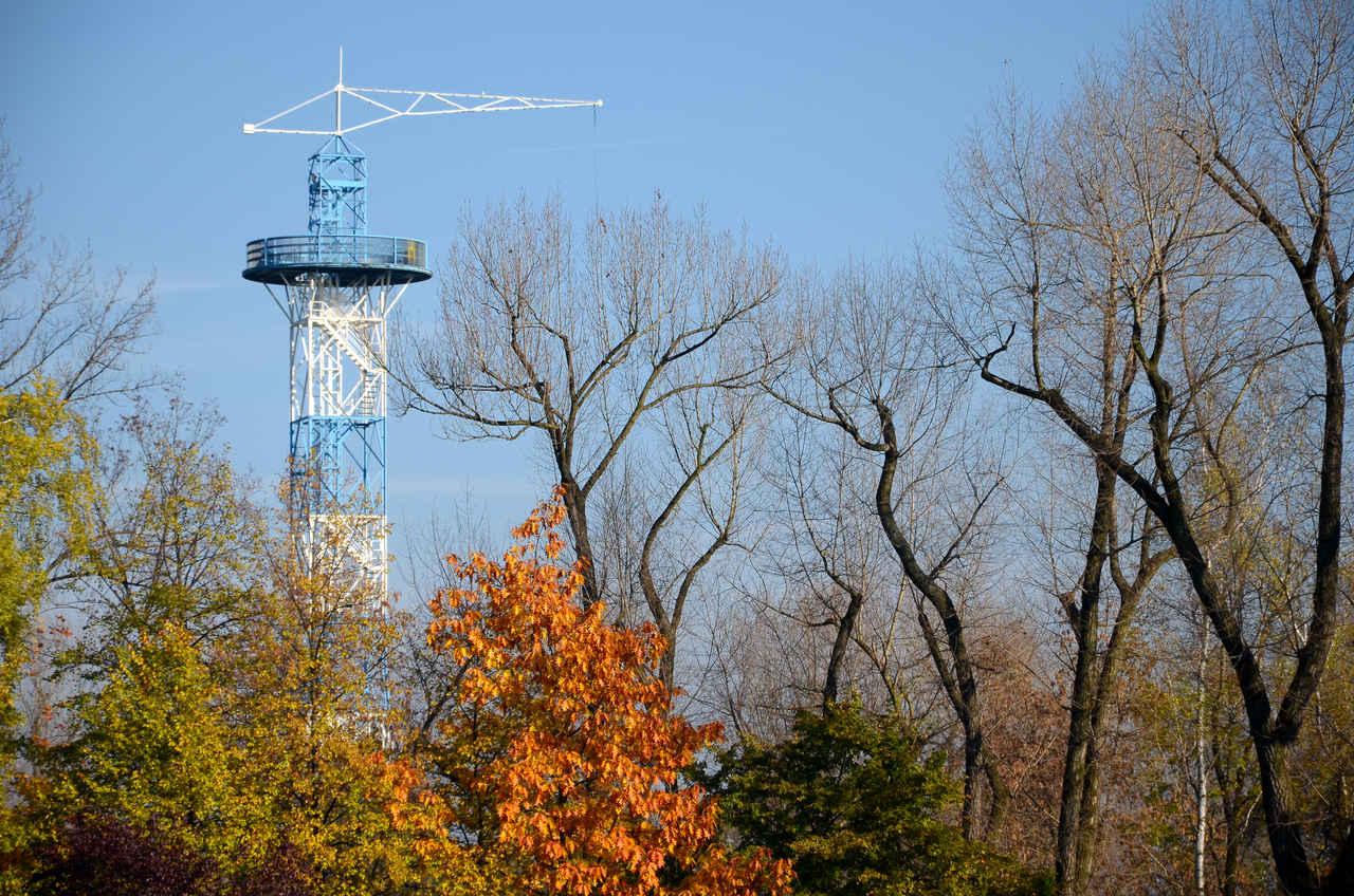 wieża spadochronowa katowice