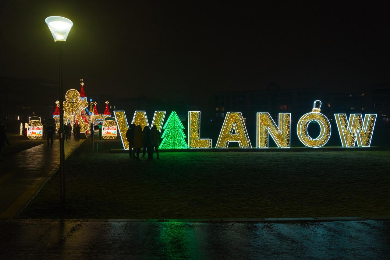 dzielnica wilanow napis