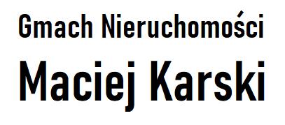 Gmach Nieruchomości Maciej Karski