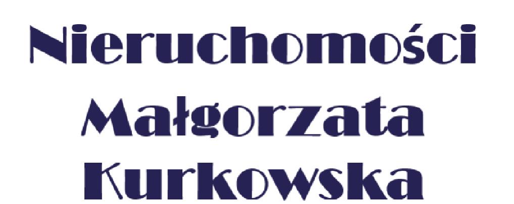 Nieruchomości Małgorzata Kurkowska